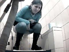 3 movies - Vids from spy cam planted in loo