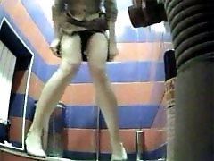 3 movies - Public toilet in shopping mall hit by a pro voyeur