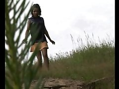 4 movies - Girl with perfect body gets busted peeing outdoors