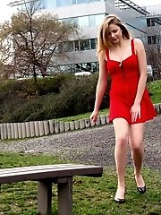 15 pictures - Red Dress Stream
